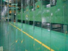 工場関連の透明間仕切りカーテン04